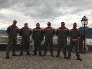 neue Offiziere der ZSO Werdenberg