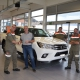 Fahrzeuguebergabe Toyota Hilux