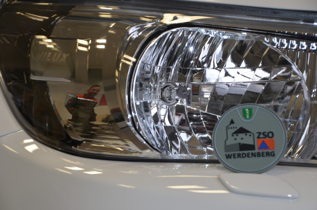 Reko-Fahrzeug Toyota Hailux