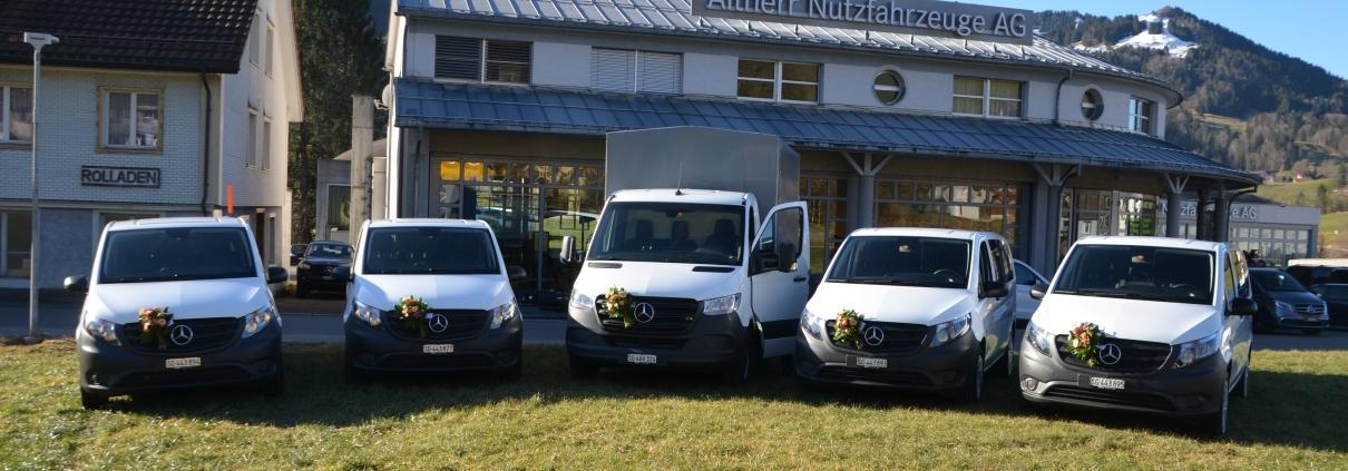 Neue Fahrzeugflotte Mercedes